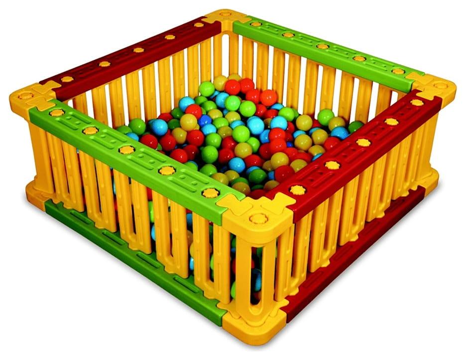 Квадратный манеж King Kids KK_SB6010 для шаров - 51 см