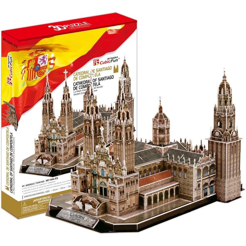 Объемный 3D пазл CubicFun MC184h Собор Святого Иакова (Испания)