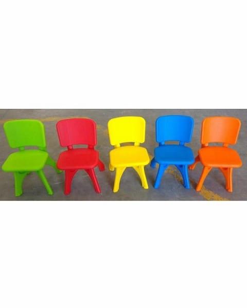 Детский пластиковый стул King Kids KK_LC2000_Y Дейзи - желтый