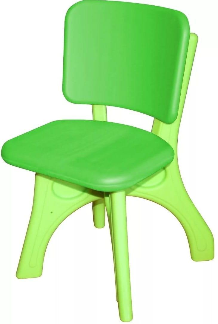Детский пластиковый стул King Kids Дейзи - зеленый
