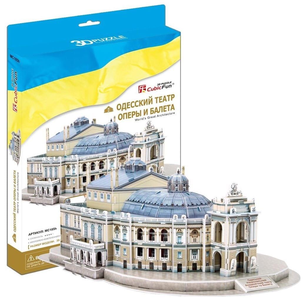 Объемный 3D пазл CubicFun MC185h Одесский театр оперы и балета (Украина)