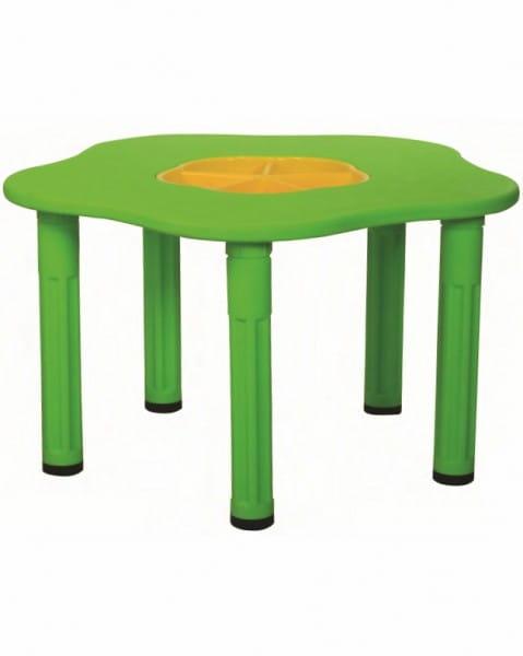 Детский столик King Kids Сэнди с системой хранения мелочей - синий