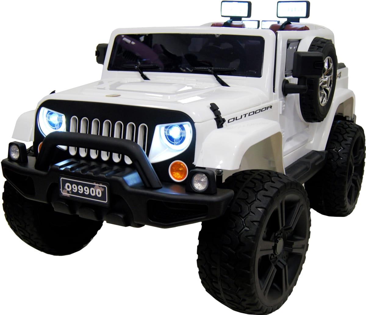 Электромобиль River Toys Jeep Wrangler O999OO с дистанционным управлением