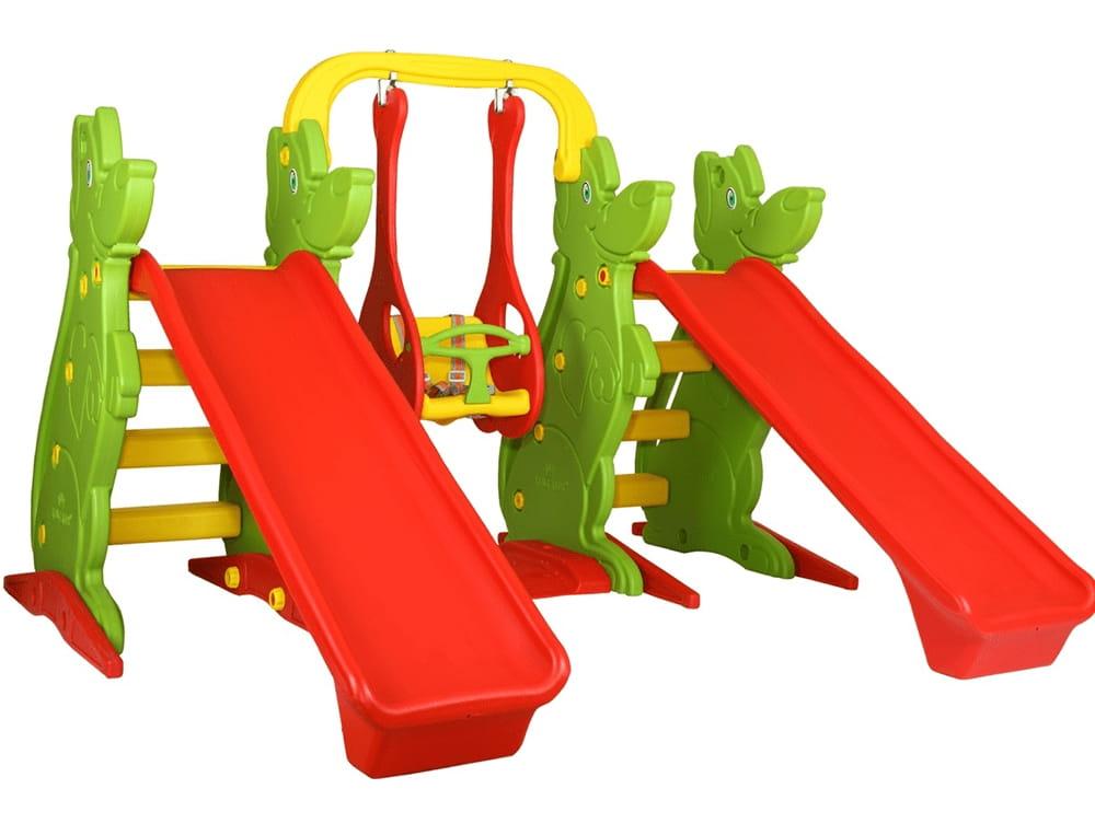 Игровой комплекс King Kids KK_KS9060-B (2 качели и горка)
