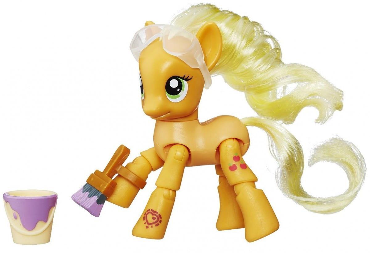 Фигурка My Little Pony с артикуляцией - Эпплджек (Hasbro)