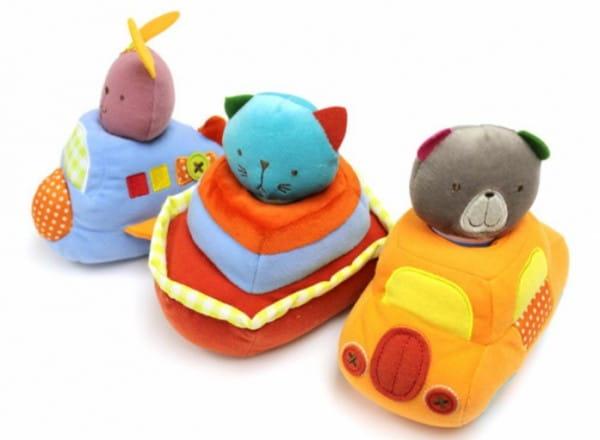 Развивающая игрушка Bobbie and friends Транспорт (1toy)