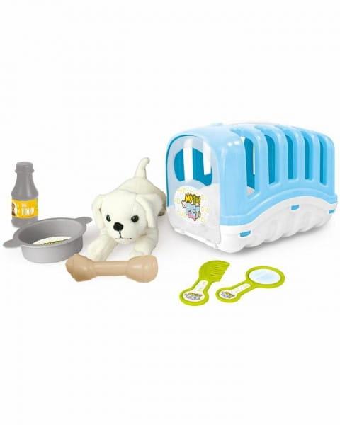 Игровой набор Dolu DL_5001 Мой любимый щенок - голубой