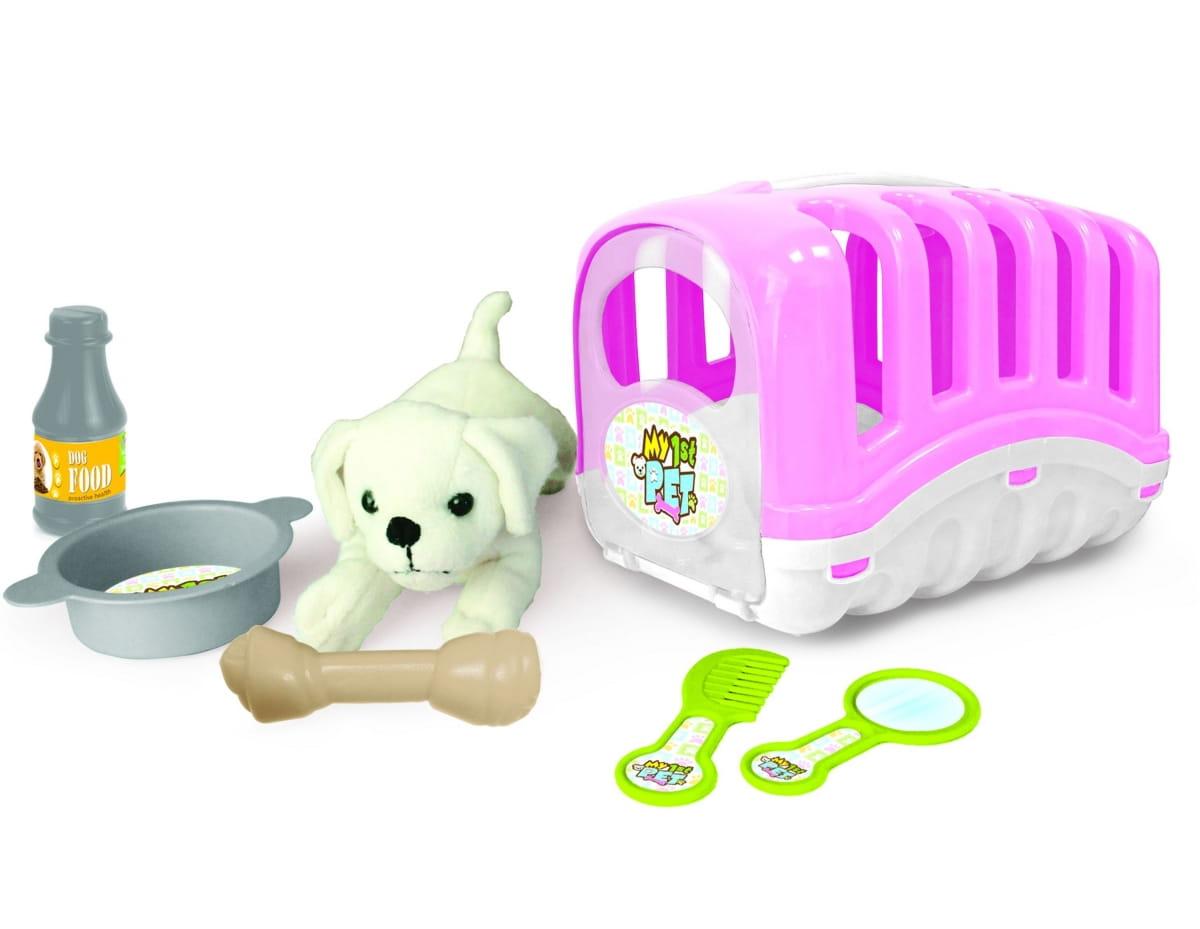 Игровой набор Dolu DL_5002 Мой любимый щенок - розовый