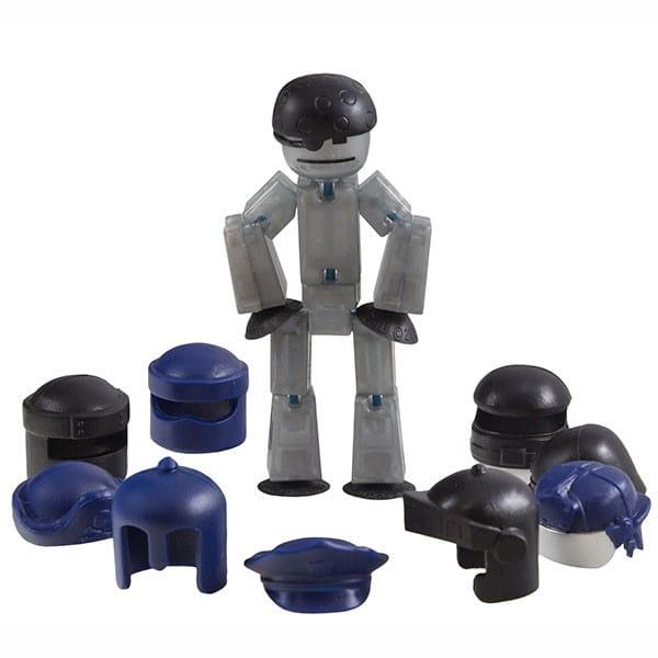 Игровой набор STIKBOT Фигурка с аксессуарами - Шлемы
