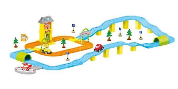 Игровой набор Dolu DL_5155 Дорога с машинками