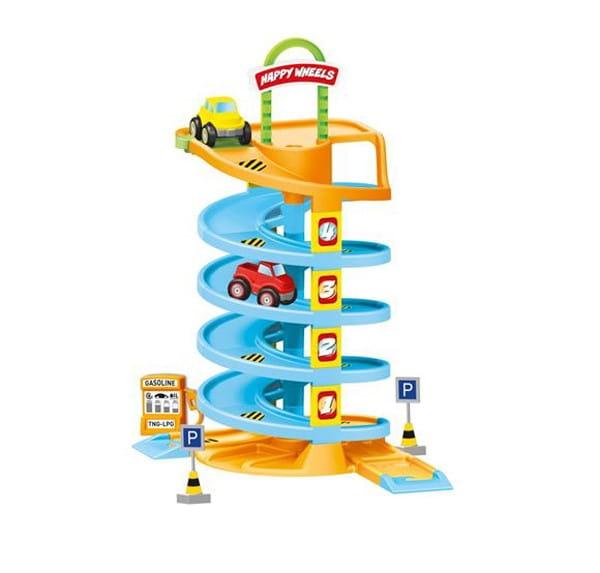 Игровой набор Dolu DL_5153 Спиральная дорога с машинками