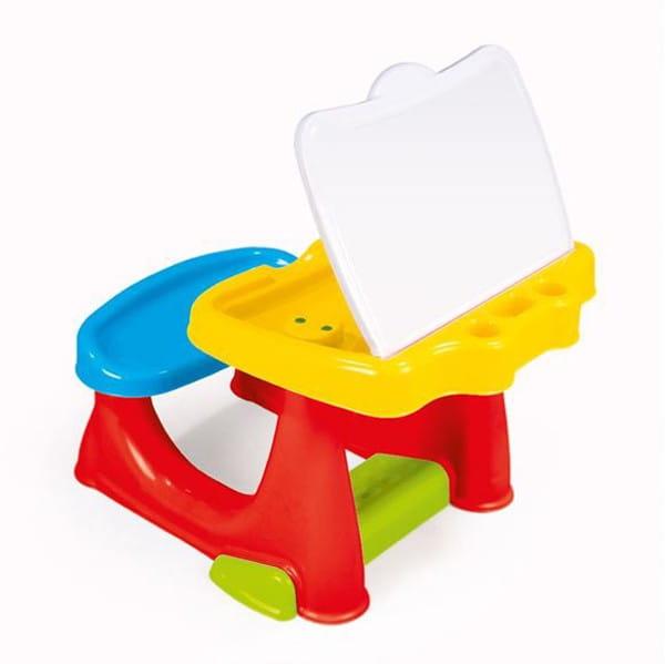 Парта DOLU со скамейкой и открывающейся столешницей - Детская мебель