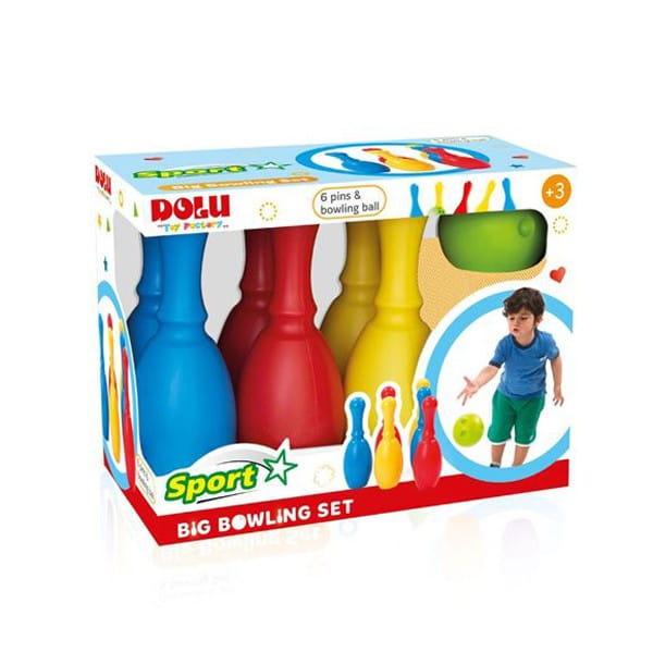 Большой набор Dolu DL_6170 Боулинг - 6 кеглей и 1 шар