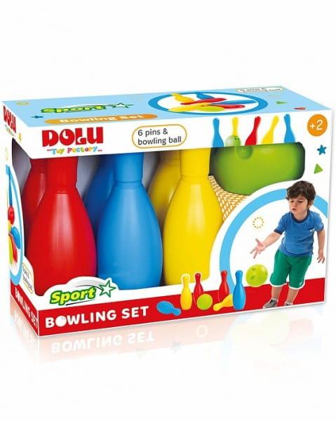 Мега набор Dolu DL_6173 Боулинг - 6 кеглей и 1 шар