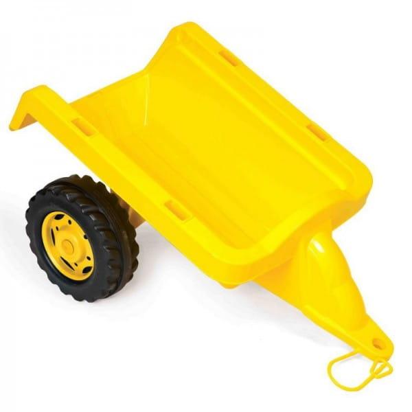 Пластиковый прицеп DOLU - желтый
