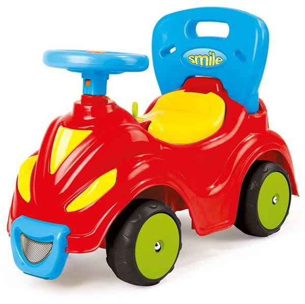 Автомобиль-каталка DOLU 2 в 1 - красный