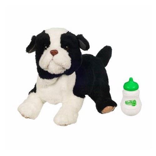 Купить Игрушка Новорожденные FurReal Friends - Собачка черно-белая (Hasbro) в интернет магазине игрушек и детских товаров
