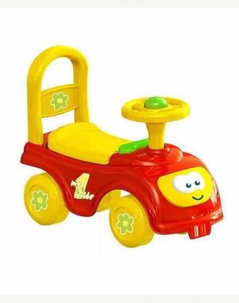 Мой первый автомобиль-каталка DOLU - красный