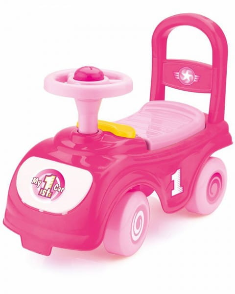 Мой первый автомобиль-каталка DOLU - розовый