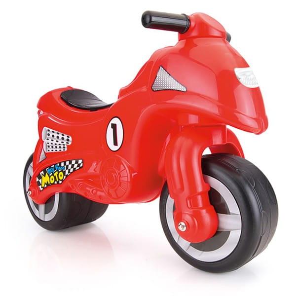 Мой первый мотоцикл-каталка DOLU - красный
