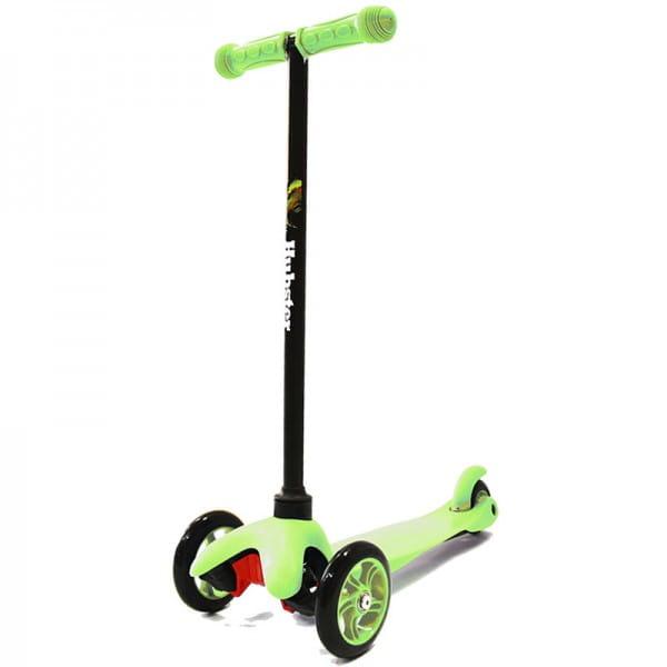 Детский самокат Hubster 2244 Mini - зеленый