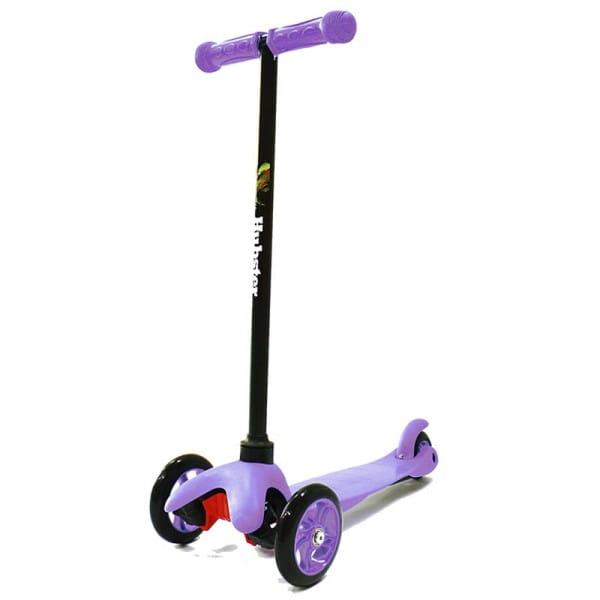 Детский самокат Hubster 2243 Mini - фиолетовый