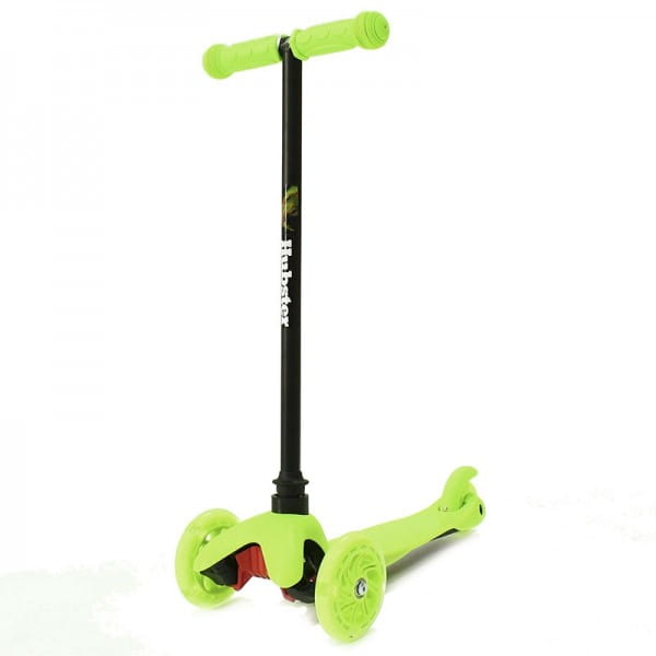 Детский самокат Hubster 2248 Mini Flash - зеленый
