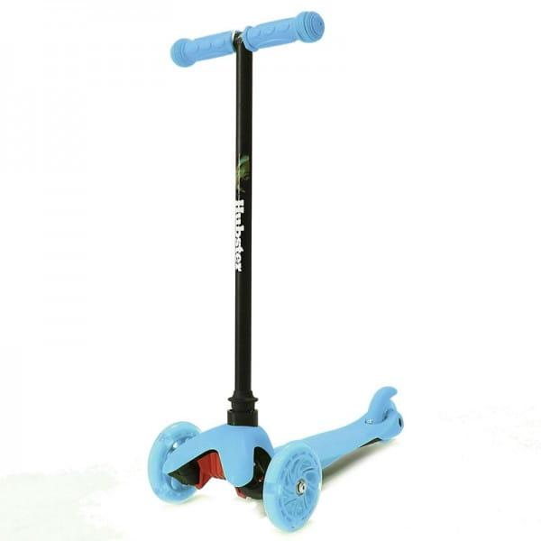 Детский самокат Hubster 2247 Mini Flash - синий
