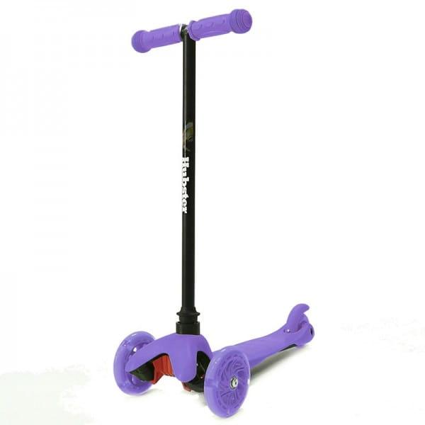 Детский самокат Hubster 2246 Mini Flash - фиолетовый