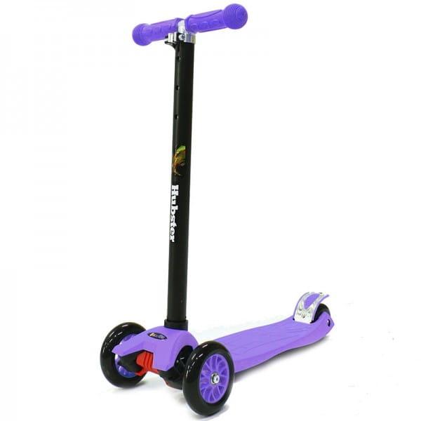 Детский самокат Hubster во2249 Maxi - фиолетовый