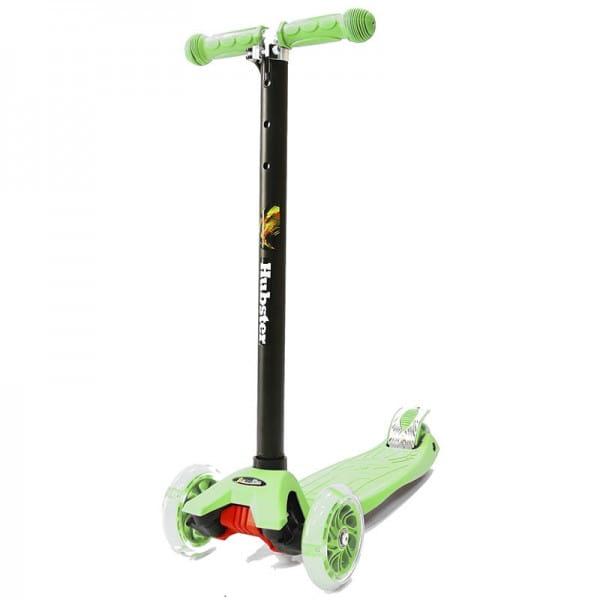 Детский самокат Hubster во2259 Maxi Flash - зеленый