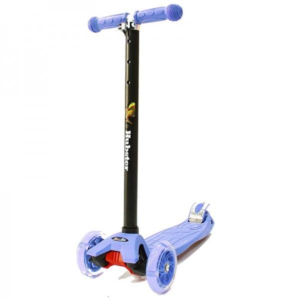 Детский самокат Hubster во2258 Maxi Flash - синий