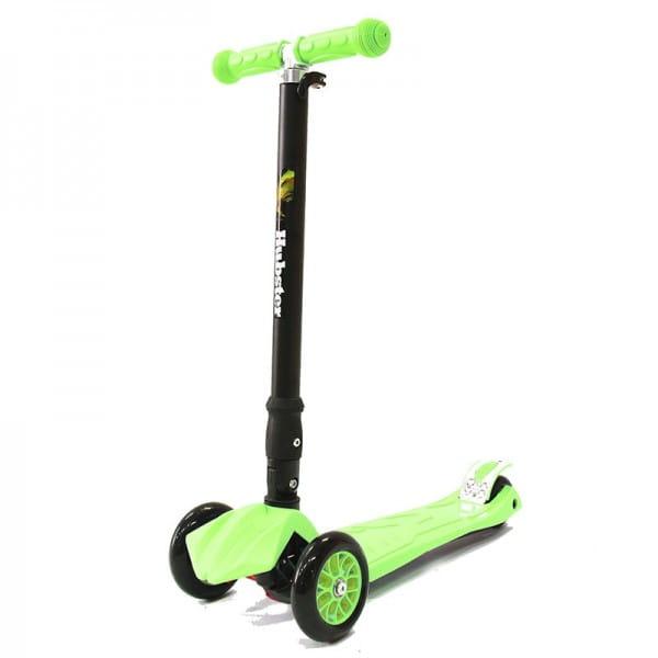 Детский самокат Hubster во2262 Maxi Plus - зеленый