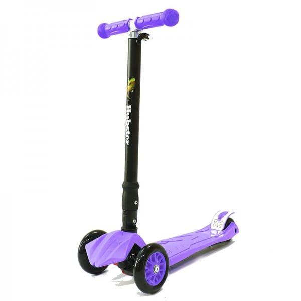 Детский самокат Hubster во2260 Maxi Plus - фиолетовый