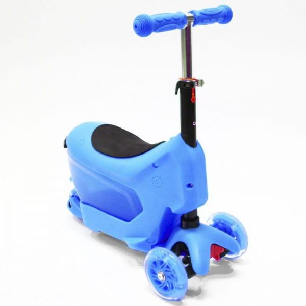 Детский самокат Hubster во2276 Comfort - синий