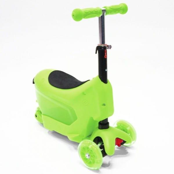 Детский самокат Hubster во2277 Comfort - зеленый