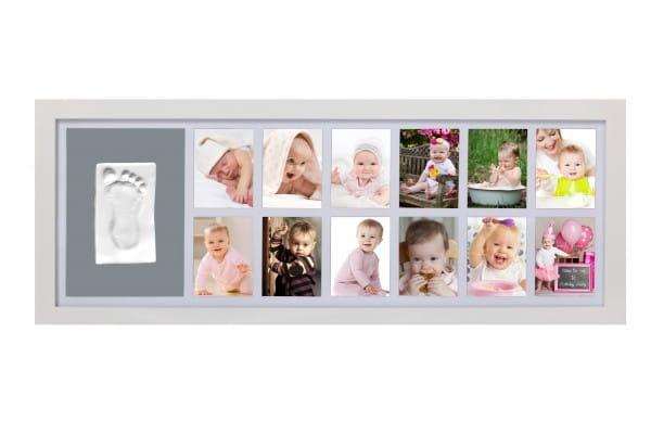 Рамка для детского отпечатка Adora NP 067 12 месяцев - белая