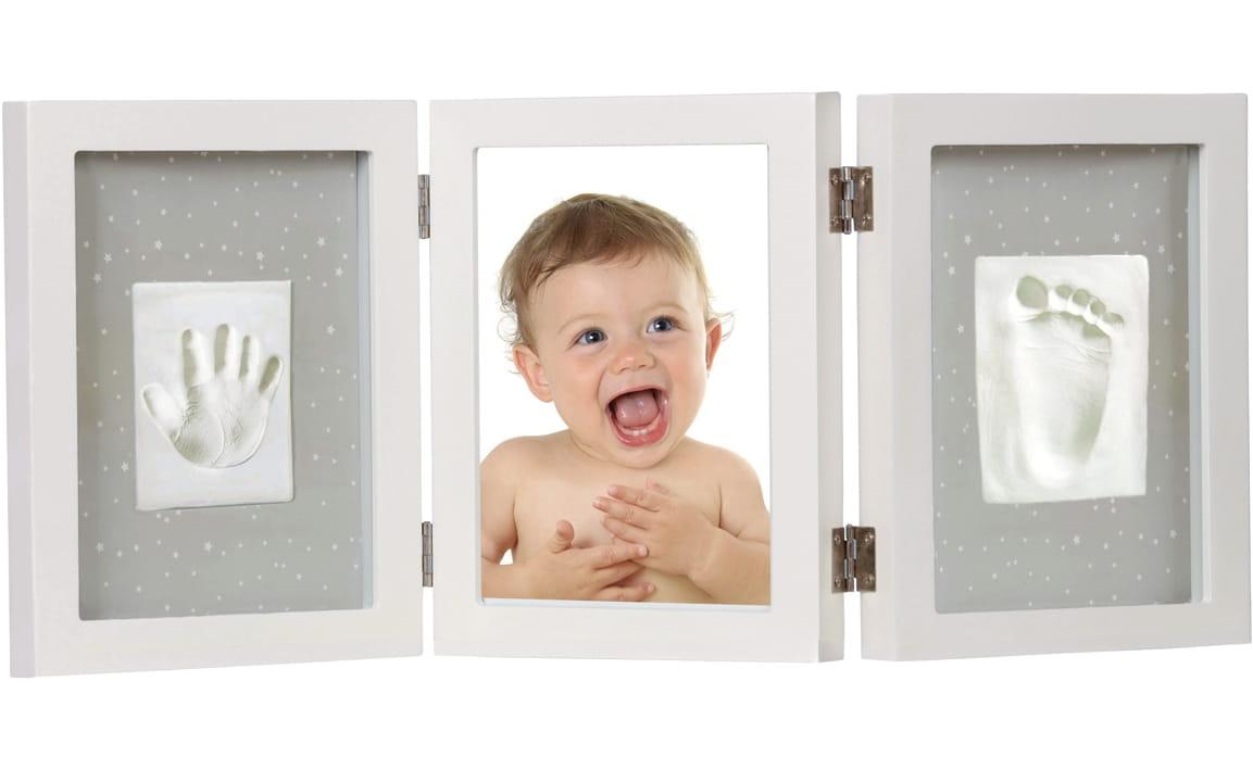 Рамка тройная Adora NP 064 для фотографии и отпечатка - белая