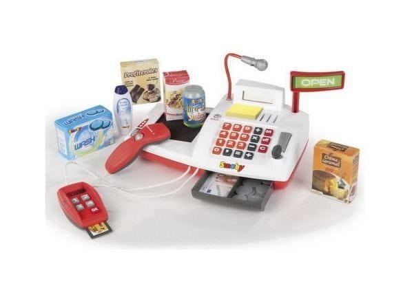 Купить Кассовый аппарат со светом и звуком Smoby в интернет магазине игрушек и детских товаров