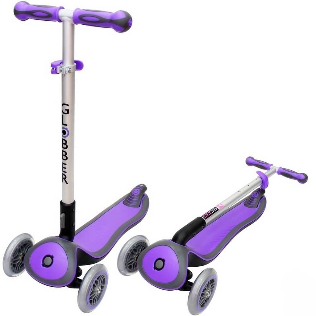 Самокат Globber 6315 Elite S My Free Fold up - Purple