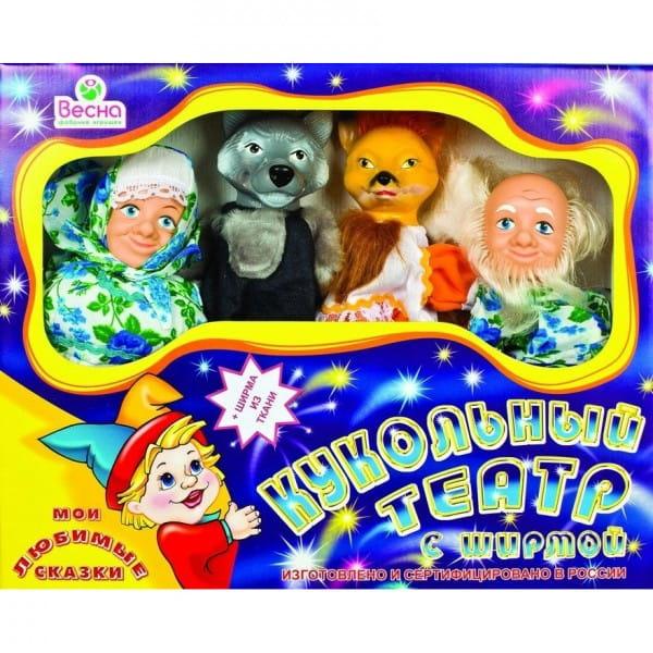 Игровой набор Весна В2928 Мои любимые сказки - 4 куклы