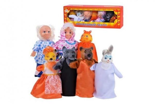Игровой набор Весна В2801 Кукольный театр - Колобок