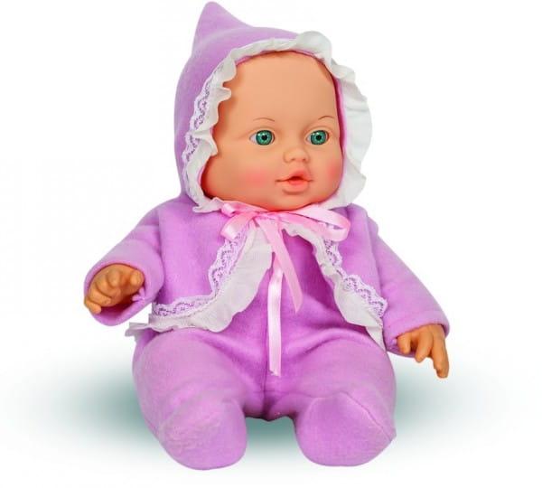 Кукла Весна В1723 Малышка в сиреневом комбинезоне