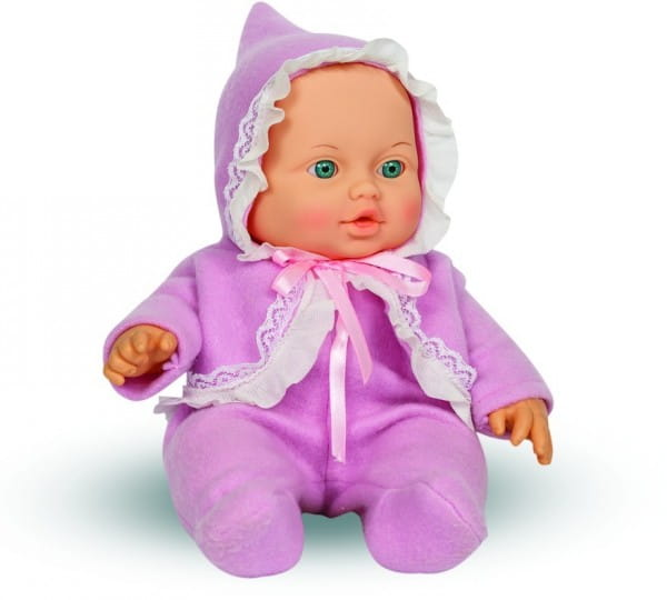 Кукла ВЕСНА Малышка в сиреневом комбинезоне