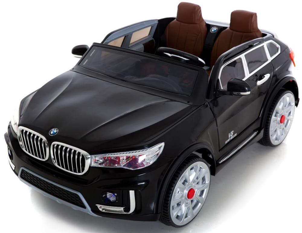 Двухместный электромобиль HARLEYBELLA BMW X7 - черный
