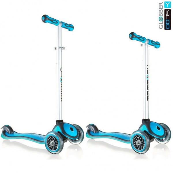 Самокат Y-Scoo Globber 5944 My free New Technology - Blue aqua