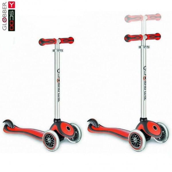 Самокат Y-Scoo Globber 5947 My free New Technology - Red