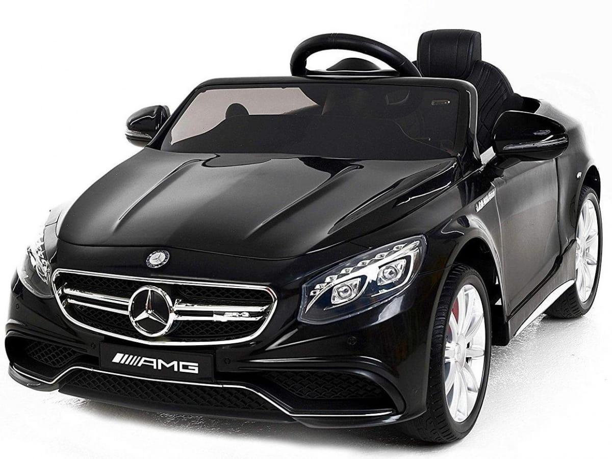 Радиоуправляемый электромобиль HARLEYBELLA Mercedes-Benz S63 AMG 12V - черный