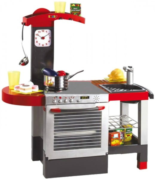 Купить Кухня Tefal со светом и звуком и 19 аксессуаров (Smoby) в интернет магазине игрушек и детских товаров