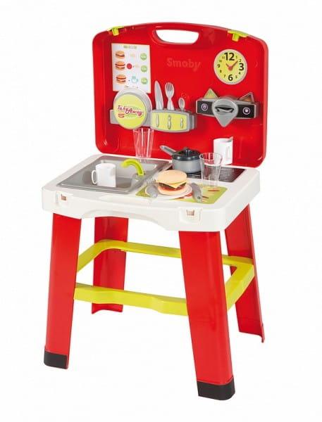Купить Кухня в чемоданчике Smoby в интернет магазине игрушек и детских товаров